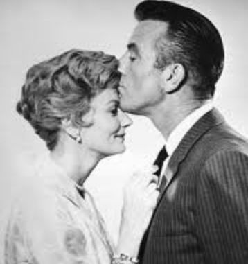 June and Ward Cleaver from a 1960s TV series.